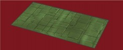 Green Metal Floor Tile
