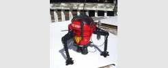 Pogo Ballistic Battle Ball (1987 - Custom)