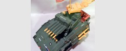 Fort America Urban Outpost Battle Tank