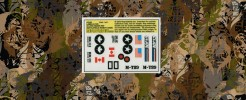 Labels For GI JOE Radar Rat Battlefield Robot