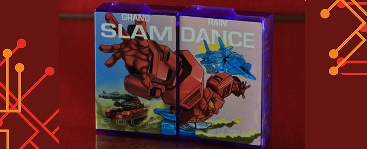 Labels for KFC Airdancer and Slamtank