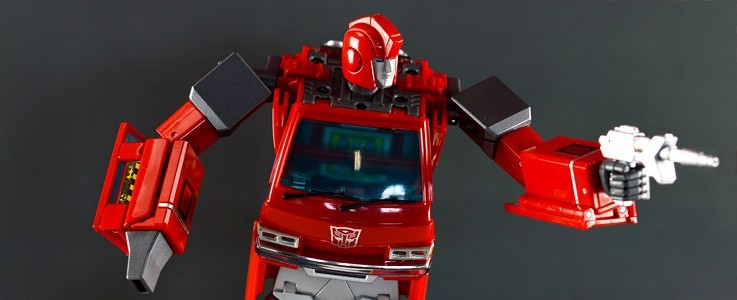 Labels for MP-27 Ironhide