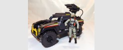 Action Force Cobra Night Attack Jeep '85