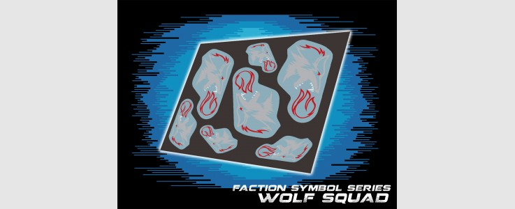 JOE Faction Symbols Wolf Squad Logo (2016)
