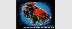 JOE Iron Grenadiers Iron Basilik AA Vehicle (2016)