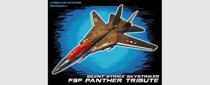 JOE 50th Skystriker XP-21F F9F Panther (2016)