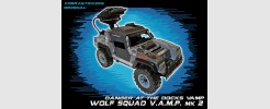 JOE 50th Vamp MK.2 Wolf Squad Attack Vehicle (2016)