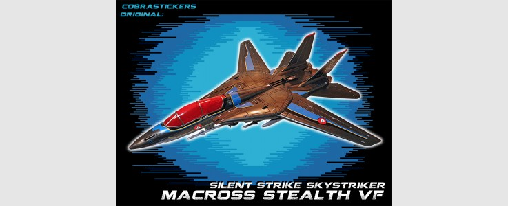 JOE 50th Skystriker XP-21F Stealth Macross VF-1S (2016)