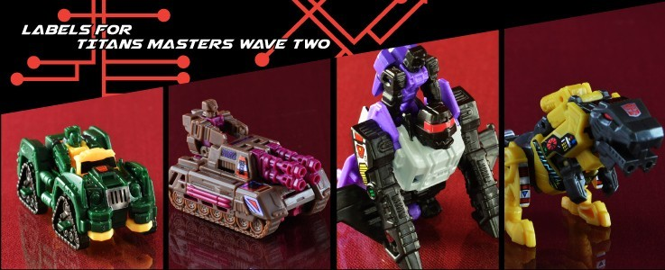Labels for TR Titan Masters wave 2