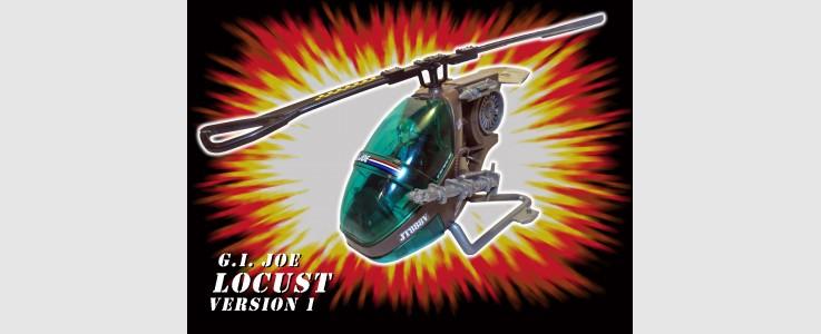 for GI JOE Locust helicopter version 1 (1990)