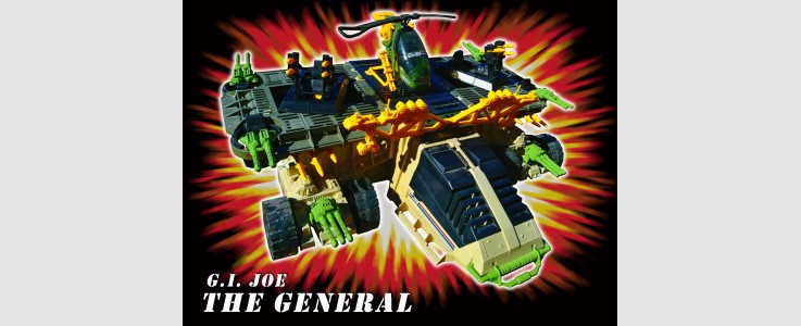 for GI JOE The GENERAL Mobile Battle Platform (1990)