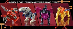 Labels for TR Titan Masters wave 3