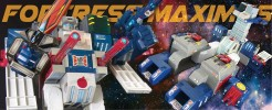 Upgrades and Repros for Fortress Maximus