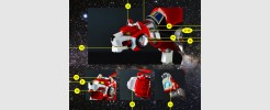 Labels for Voltron Legendary Red Lion