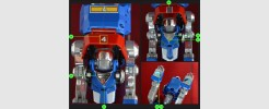 Labels for Voltron Legendary Blue Lion