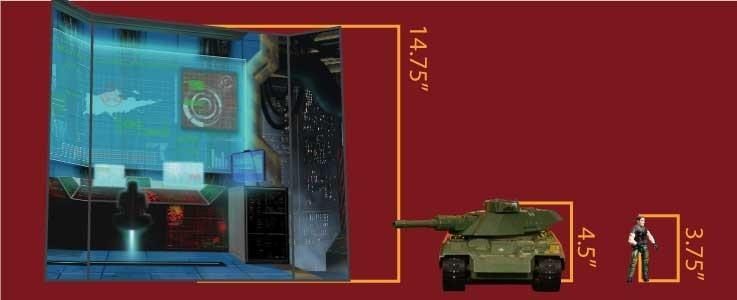 Terrorist Command Cube Shelf (B)