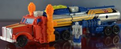 Parts and Labels for TR Action Master Optimus Prime