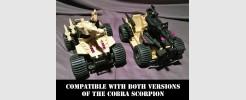 For GI JOE Cobra Scorpion ATV (1994)