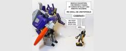 for Cobra BAT 1986 Video com screen chest plate design
