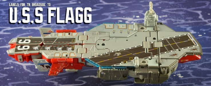 Labels for TR Flagg