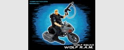 for GI JOE Wolf Squad Wolf RAM motorcycle (2017)