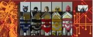 Labels for Shogun Megazord