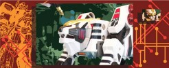 Labels for White Tigerzord