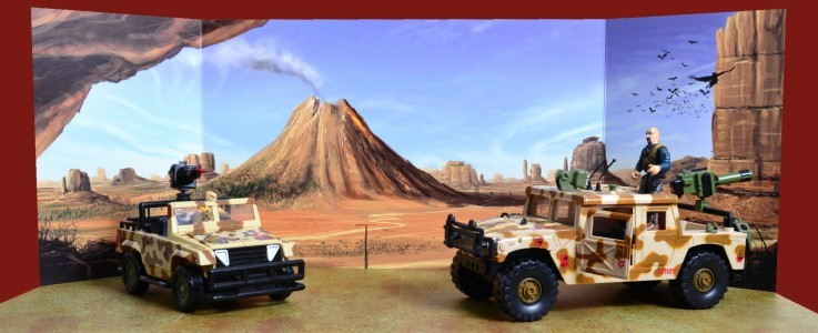 Volcano Backdrops