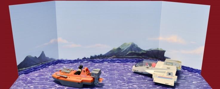 Sea backdrops