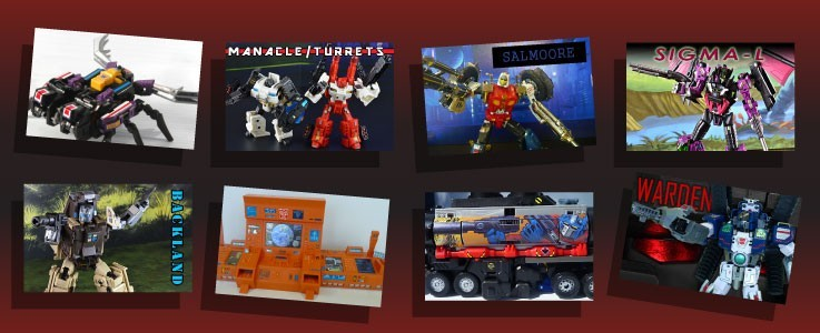 Labels for third party toys scaled to G1 and Classics Transformers