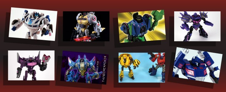 Labels for War for Cybertron and Fall of Cybertron